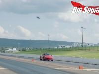 DRL FPV Race Drone Vs Porsche 911