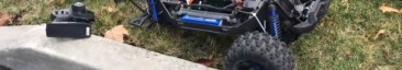 Traxxas X-Maxx Crash Video