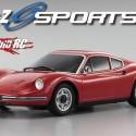 Kyosho Ferrari Dino 246GT Red