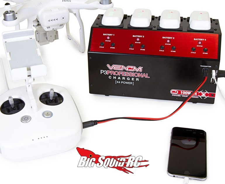 Venom Pro DJI Phantom 3 Quad Battery Charger