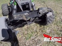 X-Maxx Tire Destruction Video