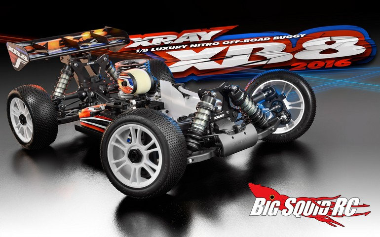 2016 Xray Xb8 Nitro Buggy Kit 171 Big Squid Rc Rc Car And