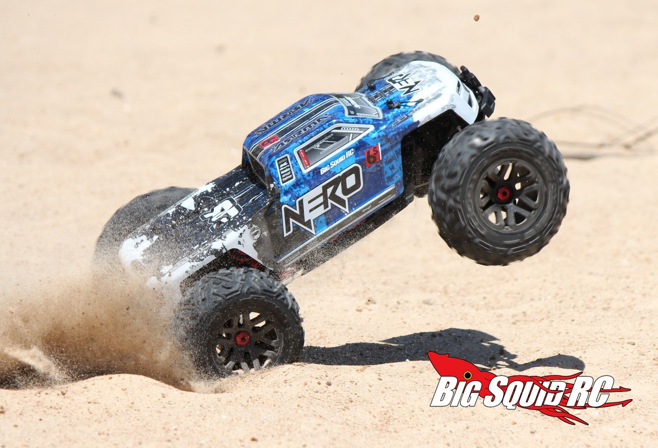 ARRMA Nero Monster Truck With Diff Brain Review « Big Squid RC – RC