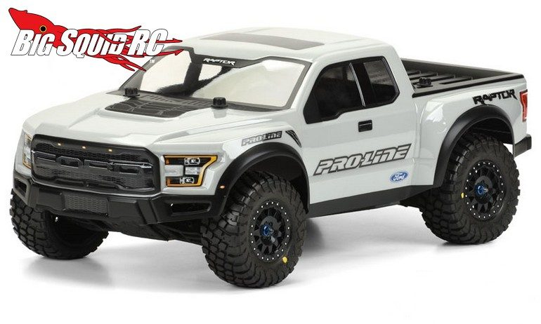 Pro-Line Pre-Painted Pre-Cut 2017 Ford F-150 Raptor Body