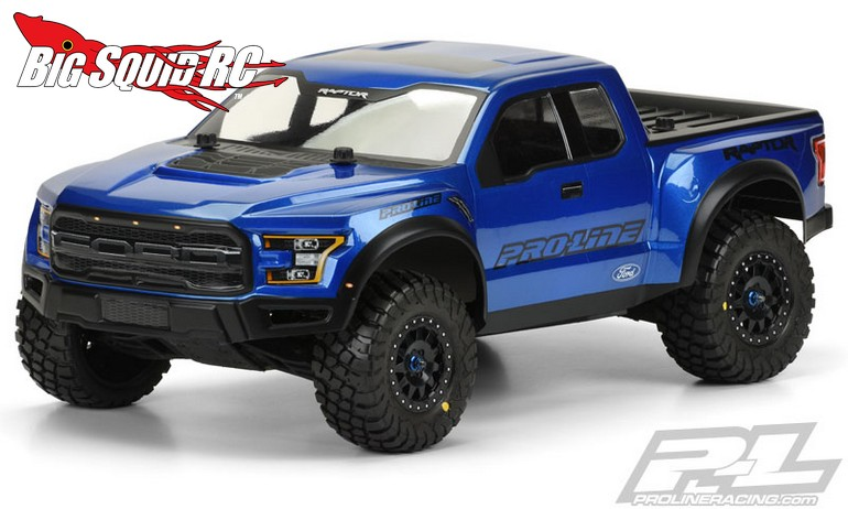 pro line pre painted pre cut 2017 ford f 150 raptor body. Black Bedroom Furniture Sets. Home Design Ideas