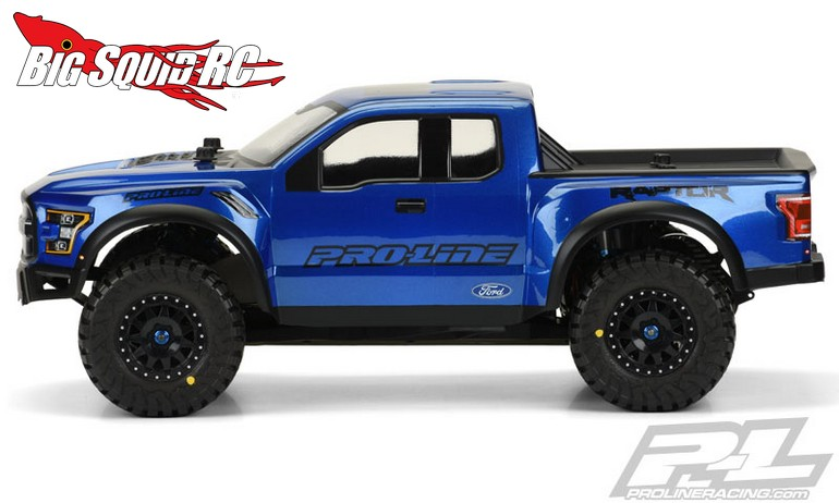 Pro Line Pre Painted Pre Cut 2017 Ford F 150 Raptor Body