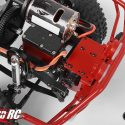 RC4WD Rough Stuff Limited Edition Red Metal Front Bumper TF2 5