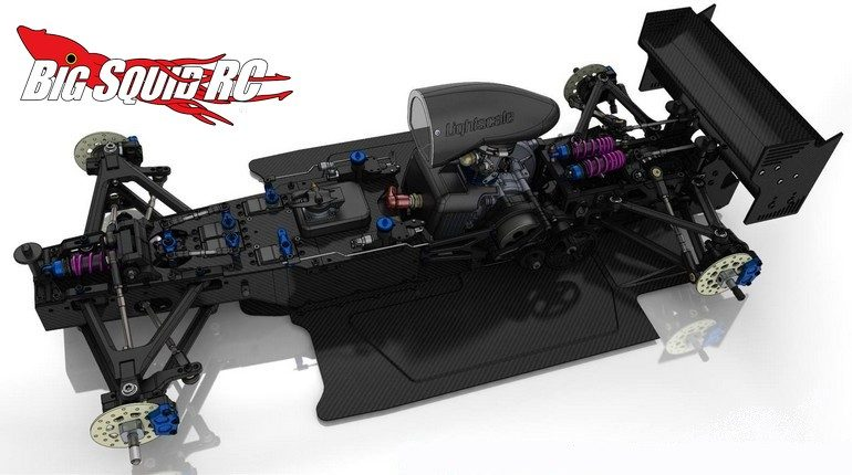 RS5 Modelsport XF Formula One Chassis