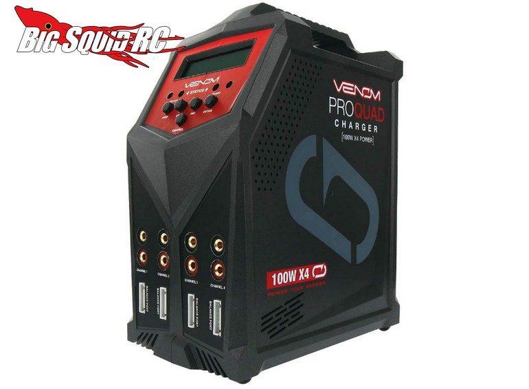 Venom Pro Quad 100W X4 Charger