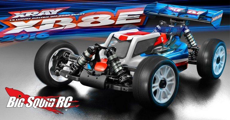 XRay XB8E 2016 Buggy Kit