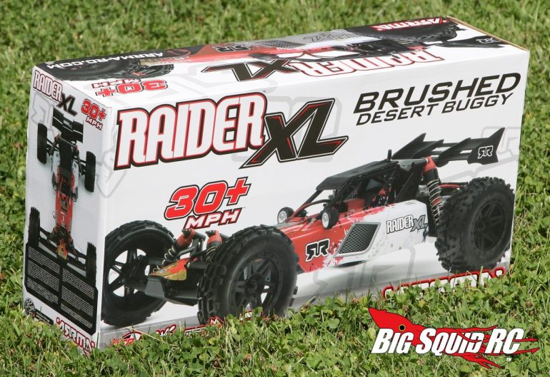 ARRMA Raider XL Brushed Unboxing