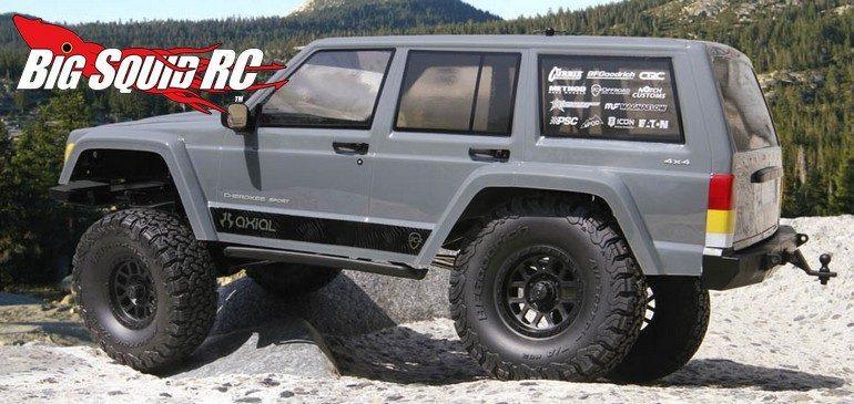 Axial Racing SCX10 II 2000 Jeep Cherokee RTR