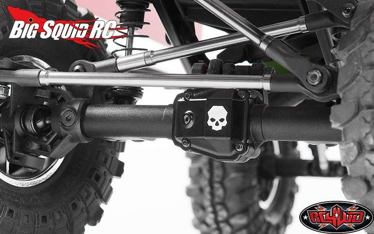 RC4WD Ballistic Fabrications Diff Cover Vaterra Ascender