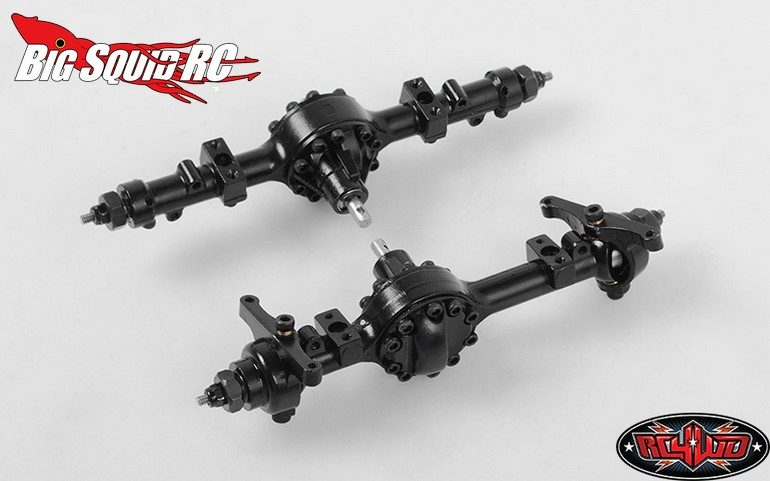 RC4WD Yota II 18th Scale Cast Front Rear Axle Set