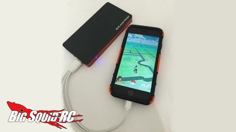 Hitec Pokemon Go Multi Jump Charger USB Output