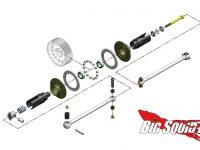 MIP Roller Pucks Bi-Metal Drive System TLR 22 3.0