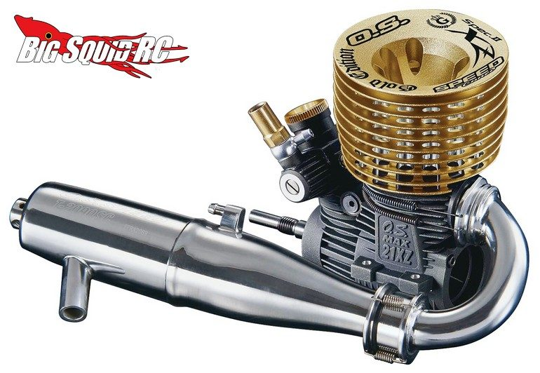 OS 21XZ-B Speed Spec II Gold Edition Engine