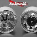 RC4WD Chrome 5 Lug Deep Dish Wagon 1.9 Steel Stamped Beadlock Wheels 1