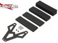 TLR Battery Strap Carbon Fiber/Aluminum 22 3.0