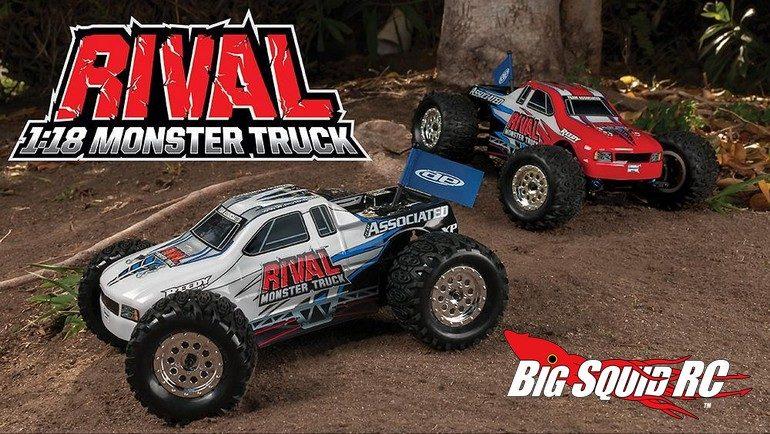 Team Associated Rival 18th Monster Truck