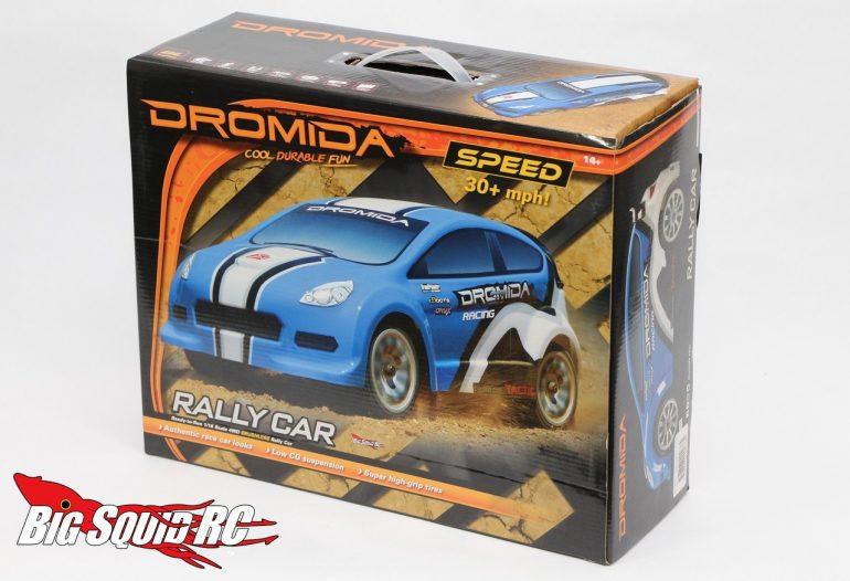 dromida brushless rally car unboxing