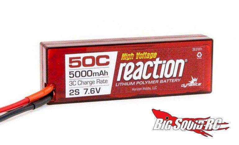 Dynamite Reaction High Voltage LiPo