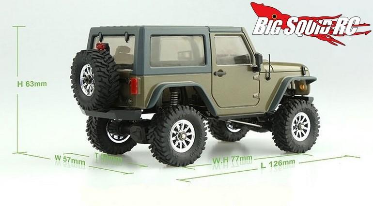 Orlandoo Hunter 1 35 Jeep Rubicon Micro Crawler Big Squid Rc Rc
