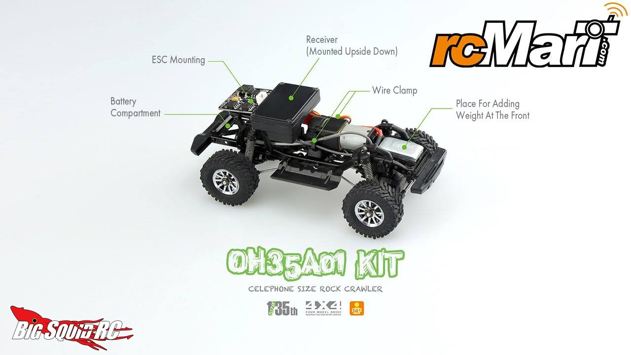 Orlandoo Hunter 1 35 Jeep Rubicon Micro Crawler 171 Big