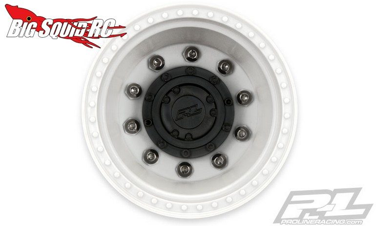 Pro-Line Brawler Clod Buster 2.6 White Wheels