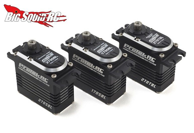 Protek Black Label Brushless Servos