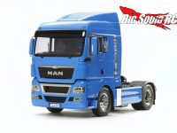 Tamiya MAN TGX French Blue