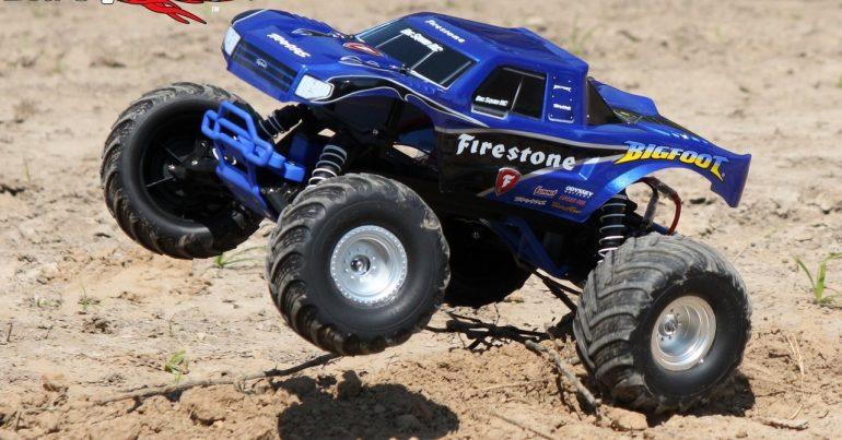 traxxas bigfoot monster truck review