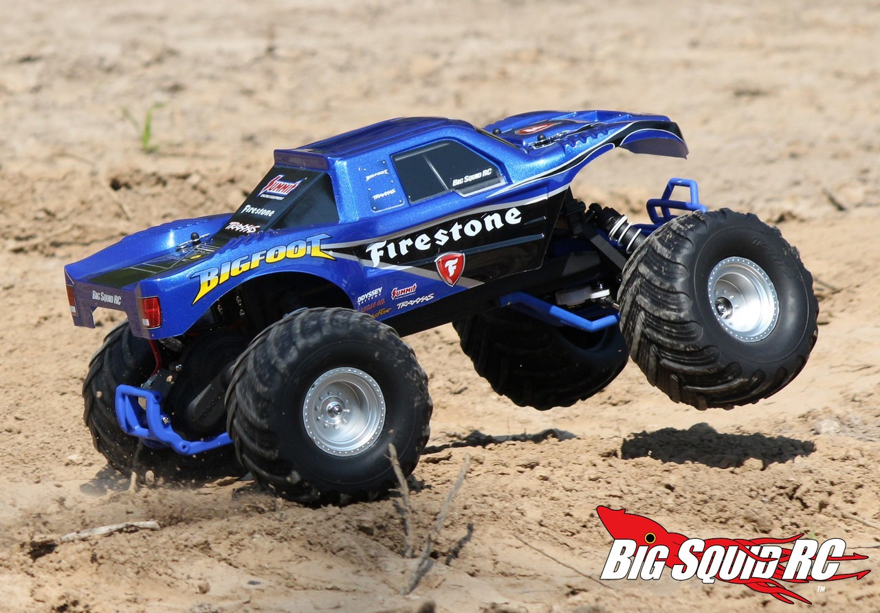 Traxxas Bigfoot Monster Truck Review 171 Big Squid Rc Rc