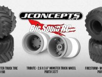 JConcepts Monster Truck Tires and Wheels