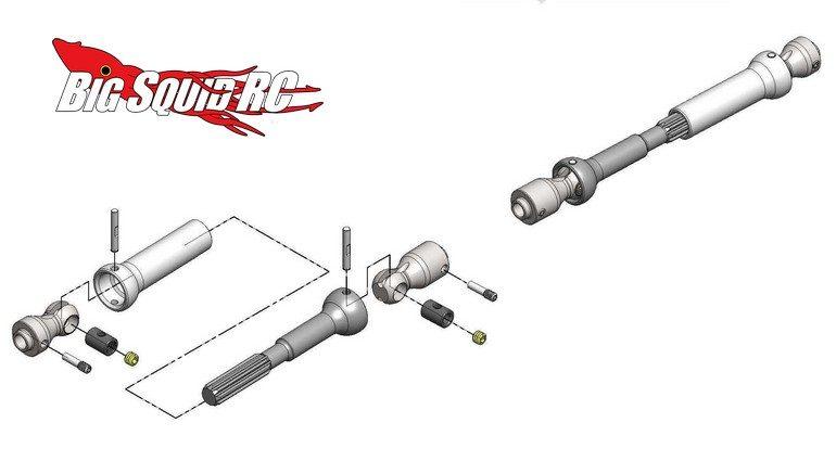 MIP Spline CVD™ Center Drive Kit Axial Wraith