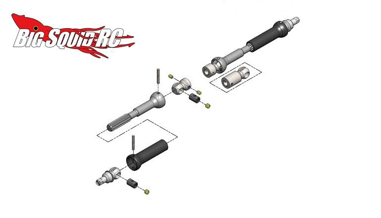 MIP X-Duty™ C-Drive Kit Vaterra Ascender