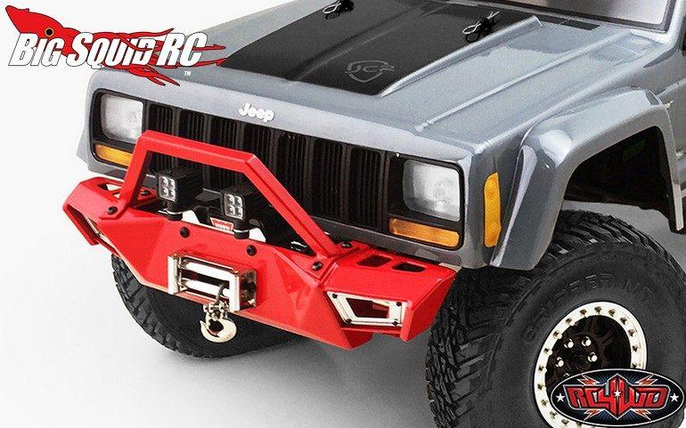 RC4WD Red Metal Front Bumper Axial SCX10 I II