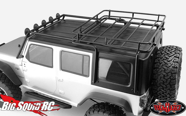 Rc4wd Roof Racks For Axial Scx10 Wrangler 171 Big Squid Rc