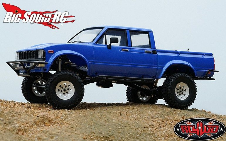RC4WD Trail Finder 2 Kit LWB Mojave II Four Door Body