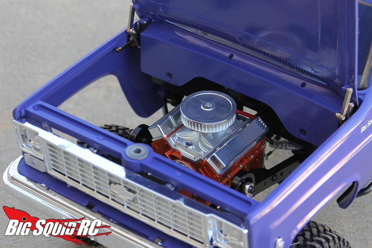 Review – RC4WD Scale V8 Engine and Ultimate Scale Single
