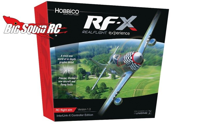 RealFlight RF-X Software