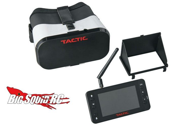 Tactic FPV-RM2 FPV Monitor and Goggles Combo