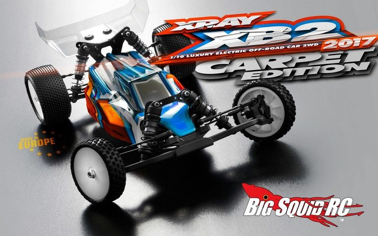 XRay 2017 XB2 Carpet Edition Buggy