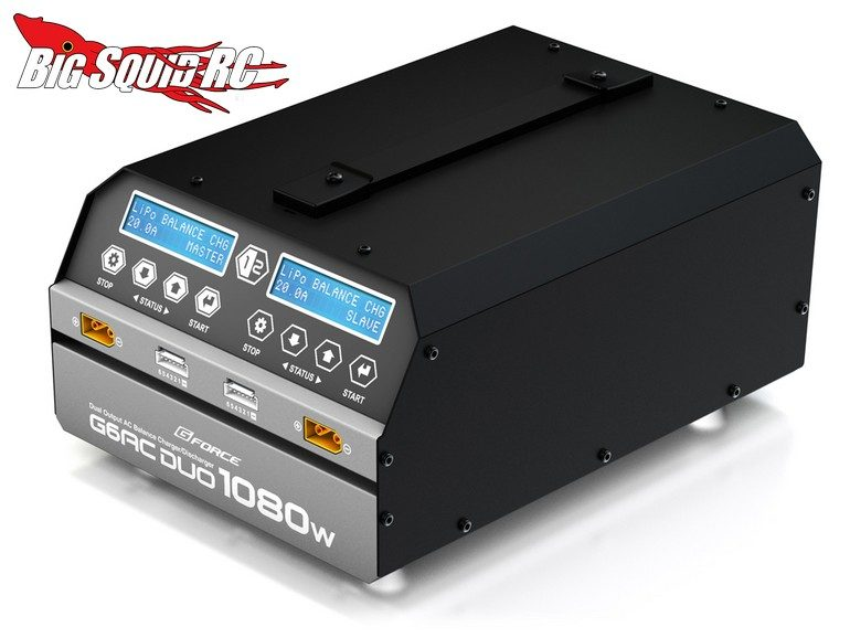 G-Force G6AC DUO 1080W Charger