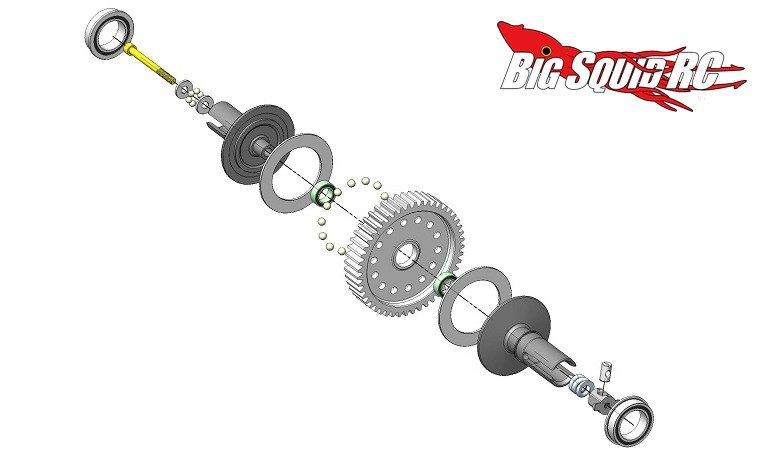 MIP Super Ball Diff Tamiya