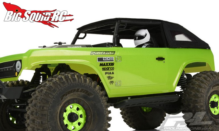 Pro Line Timberline Soft Top For The Axial Deadbolt 171 Big