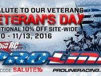 Pro-Line Veteran's Day Sale