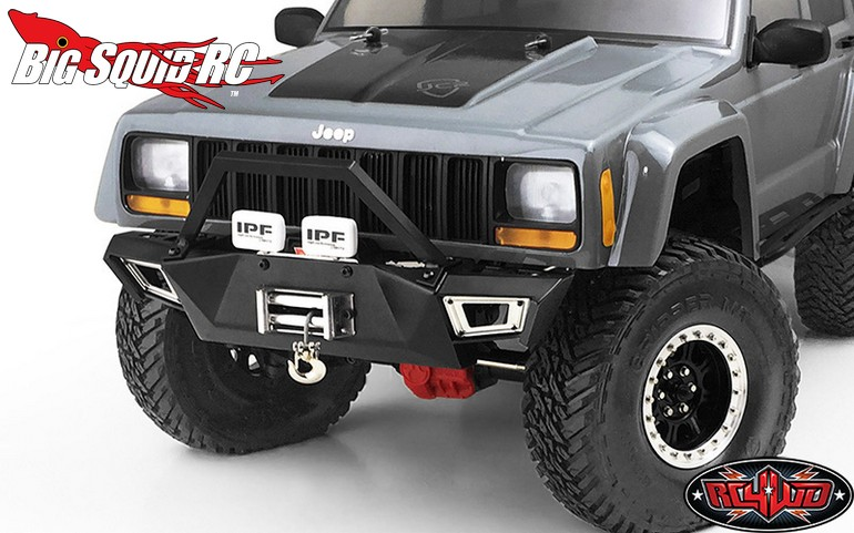 Rc4wd Black Front Bumper For The Scx10 I Amp Ii 171 Big Squid