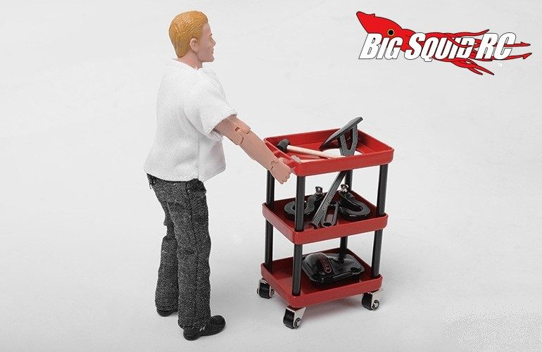 RC4WD Garage Series Metal Oil Service Cart