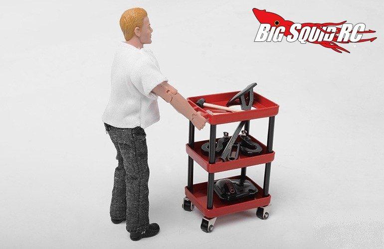 RC4WD Garage Series Metal Oil Service Cart